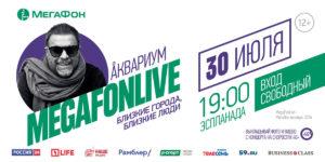 В Перми впервые состоится музыкальный фестиваль MegaFonLive