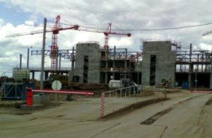 Новый терминал в аэропорту «Большое Савино» - Пермь» строится в круглосуточном режиме
