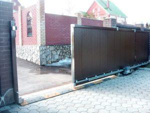 ремонт автоматических ворот в Апрелевке