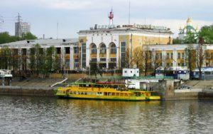 Реконструкция Пермского речного вокзала завершится до конца следующего года