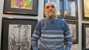 В Перми открылась юбилейная выставка Юрия Лапшина