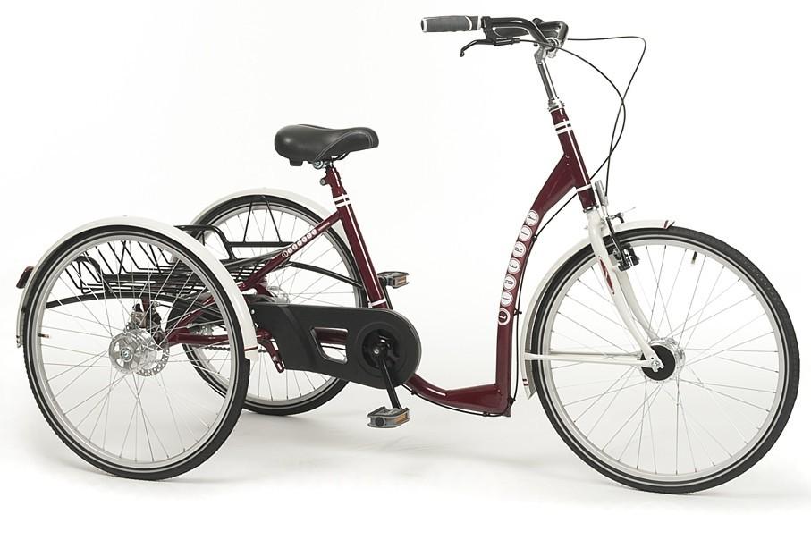 Житель Перми создал необычный трёхколёсный велосипед для больных ДЦП