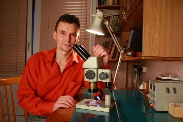 В Перми выставлена самая маленькая в мире книга