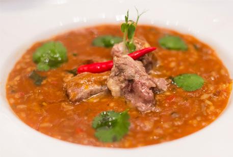 Рецепты супов – харчо по вкусному рецепту от шеф-повара с тушенкой из баранины Войсковой Спецрезерв