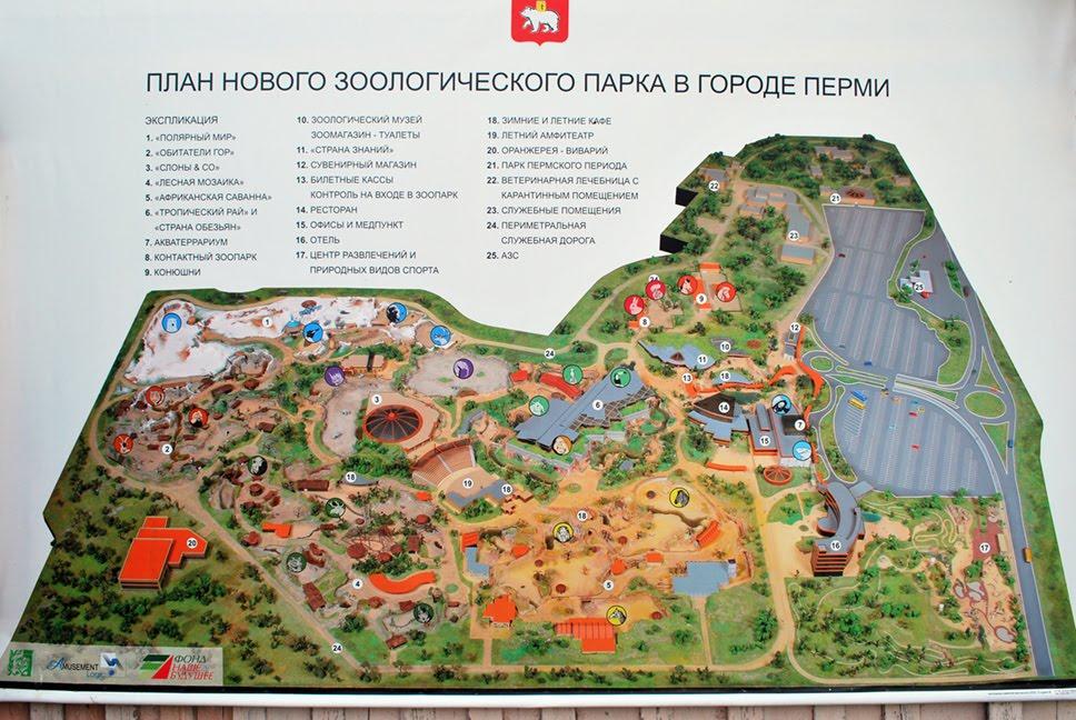 Новый пермский зоопарк появится в марте будущего года