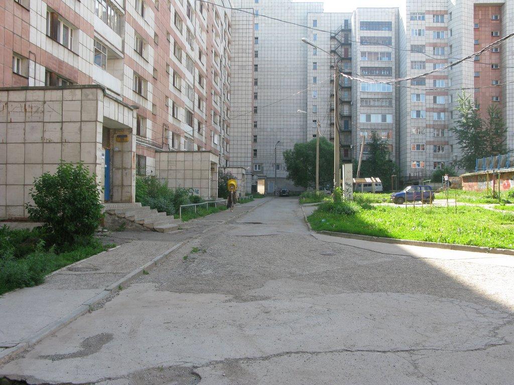 В Перми отбирают лучшие проекты благоустройства дворов