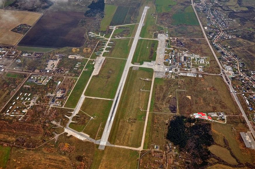 В Перми строится подъезд к новому терминалу аэропорта Большое Савино