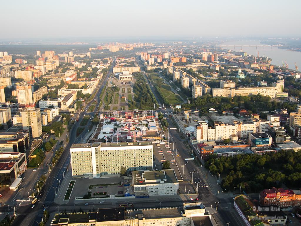 Центр Перми могут застроить высотными зданиями