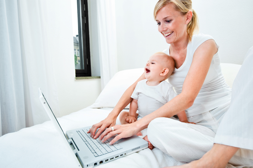 Пермским мамочкам помогут подработать в декрете