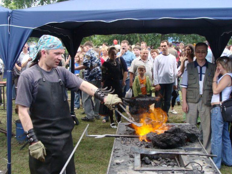 В Перми завершился фестиваль кузнечного искусства
