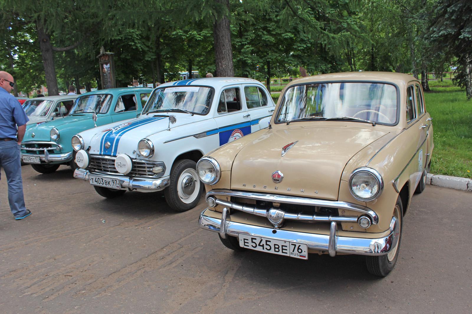 Международный пробег ретро-автомобилей достиг Перми