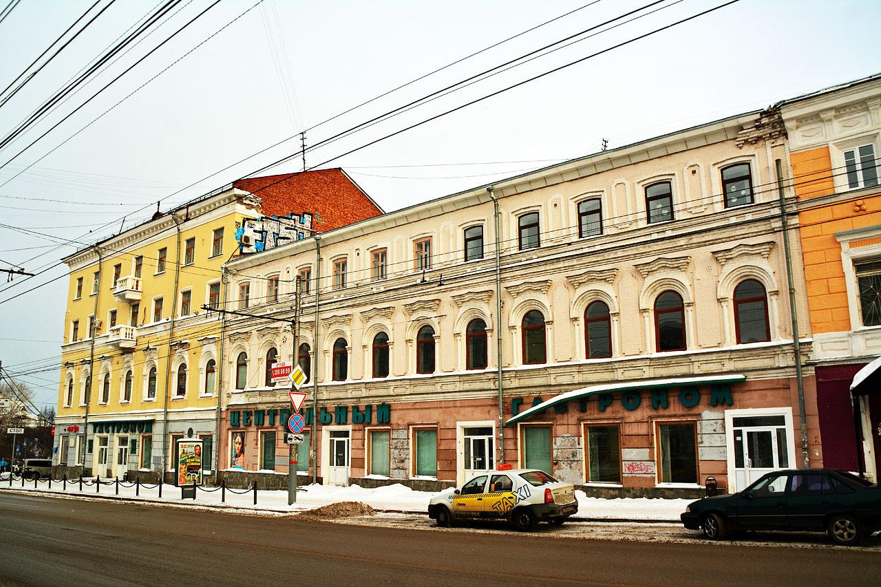 «Пятёрочка» получила разрешение на реконструкцию здания в Перми под магазин
