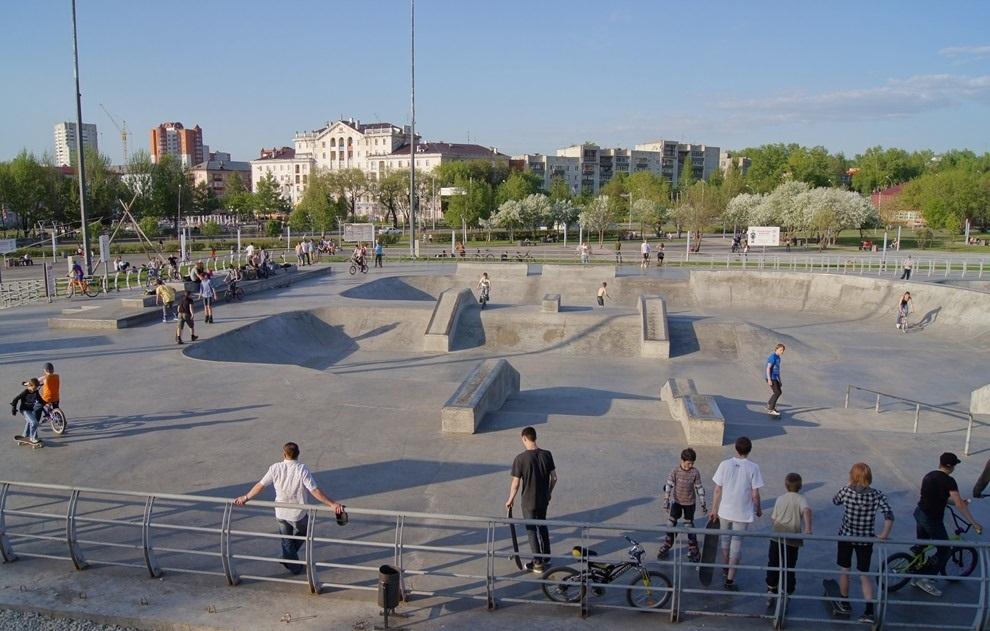 Экстрим-парк в Перми защитят от вандалов