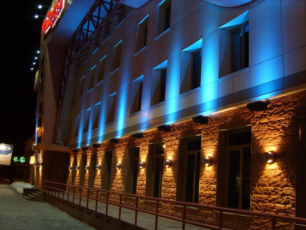 Центр Перми подсветят дизайнерскими подсветками