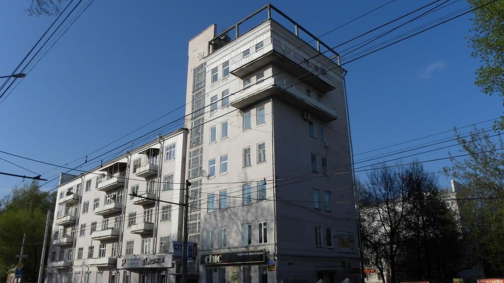 «Дом чекистов» в Перми как памятник советского конструктивизма