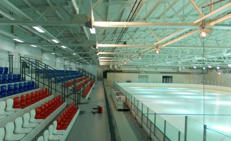В 2018 году откроется ледовая арена в Березниках