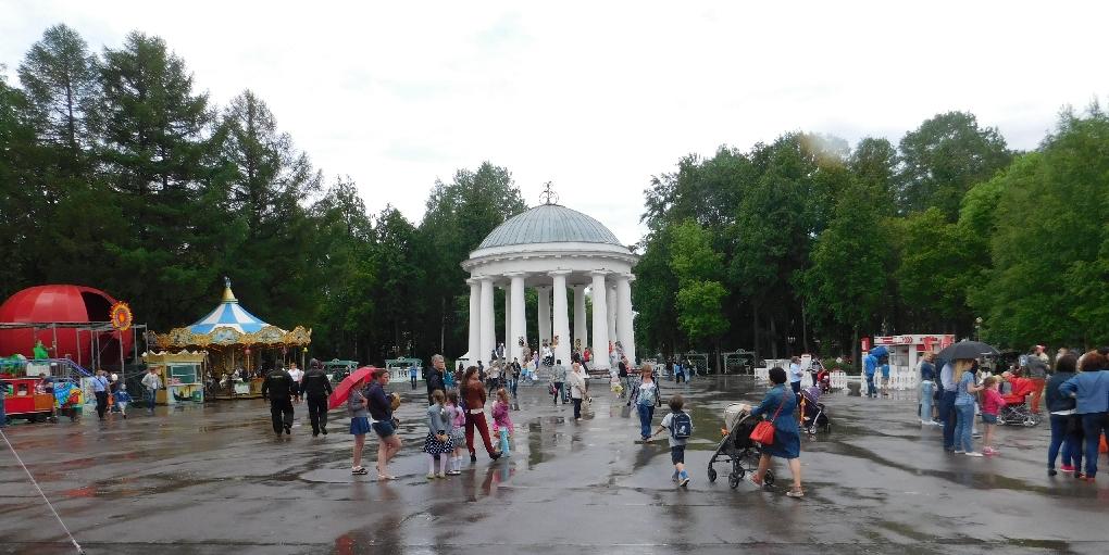 В прикамских городах обустраивают парки