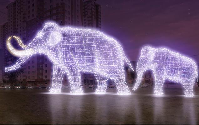 В Перми появятся мамонты