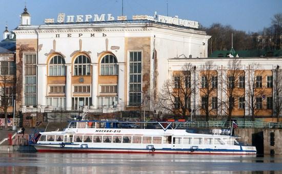 Пермский Речной вокзал продолжают реконструировать