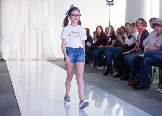 Самую красивую топ-модель среди детей выбрали в Перми