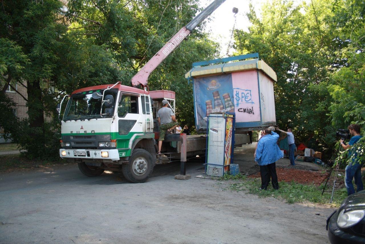 Тридцать незаконных торговых точек снесли в Перми