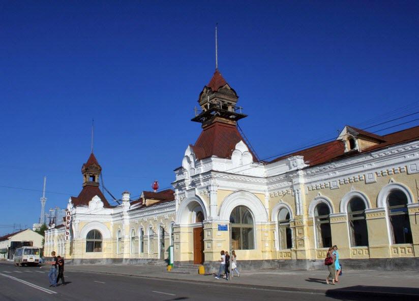 Пермь-I – старейший вокзал в Перми