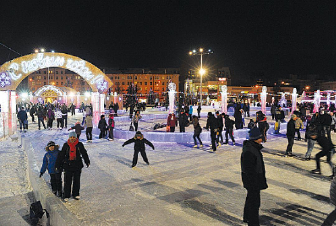 У Театра-Театра откроется ледовый каток