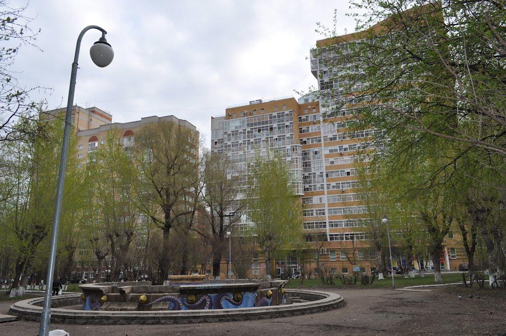 В столице Прикамья реконструируют сквер Розалии Землячки
