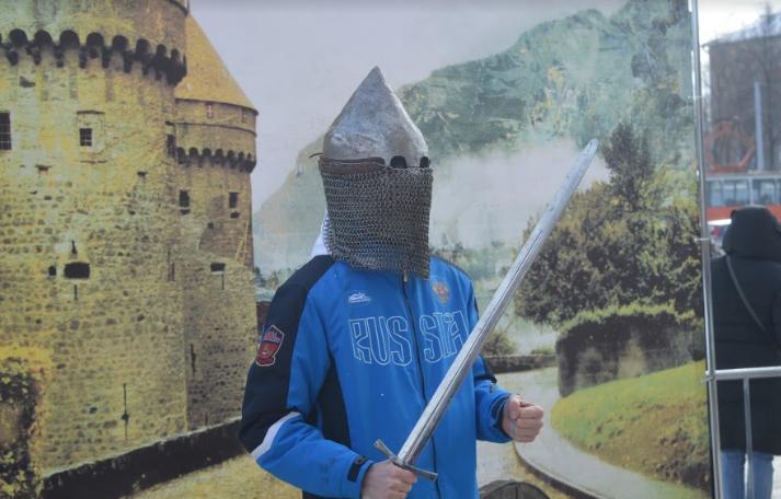 Рыцарский турнир состоялся в Перми