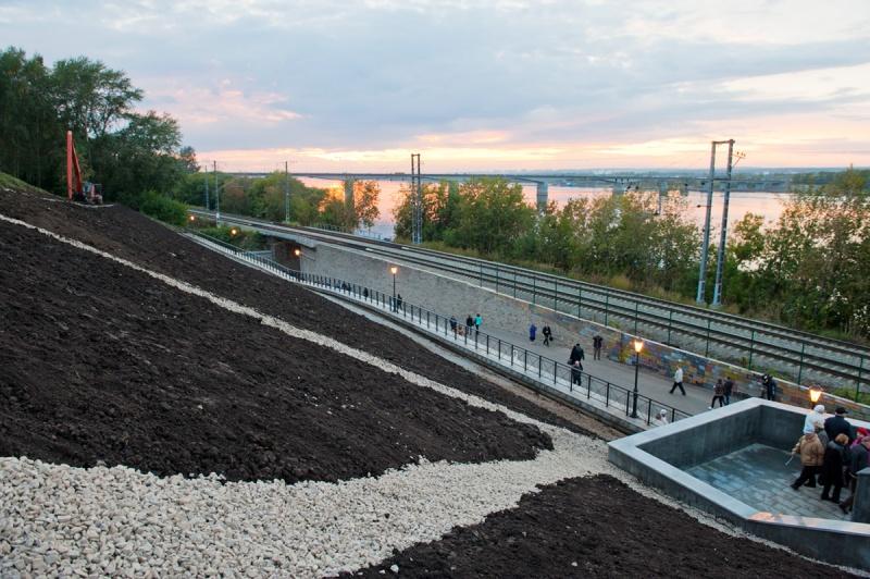 Жители Перми подписывают петицию за сохранение на набережной железной дороги