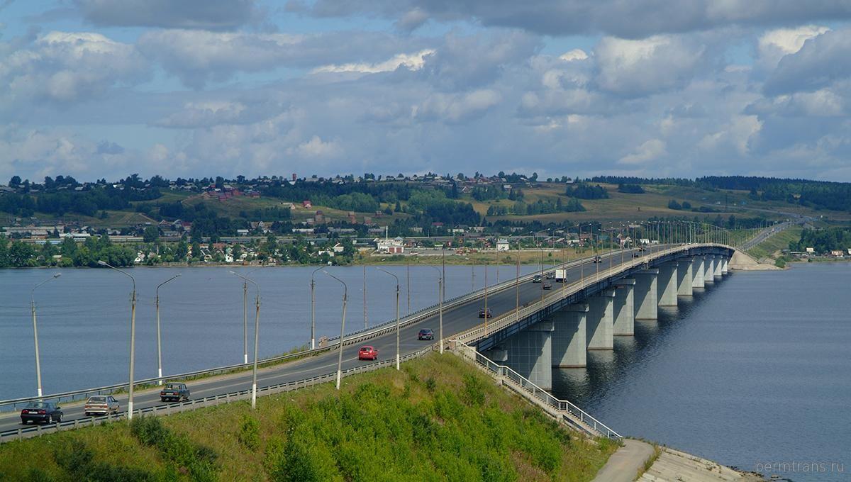 Строительство моста через Чусовую будет в большем объёме финансироваться из краевой казны