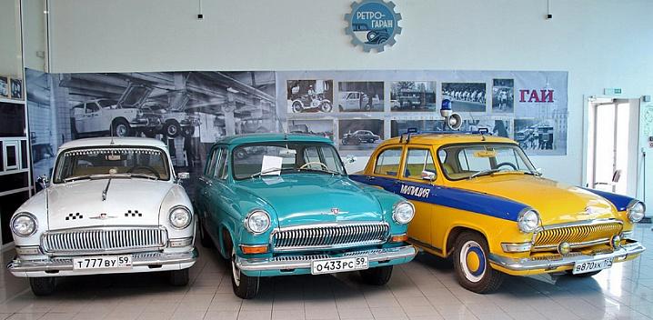В Перми открывается музей «Ретрогараж»