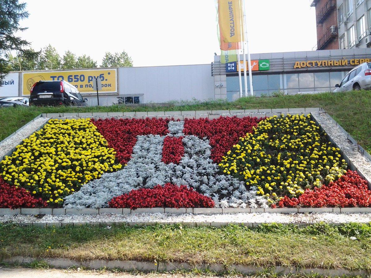 Миллион цветов высадят в Перми