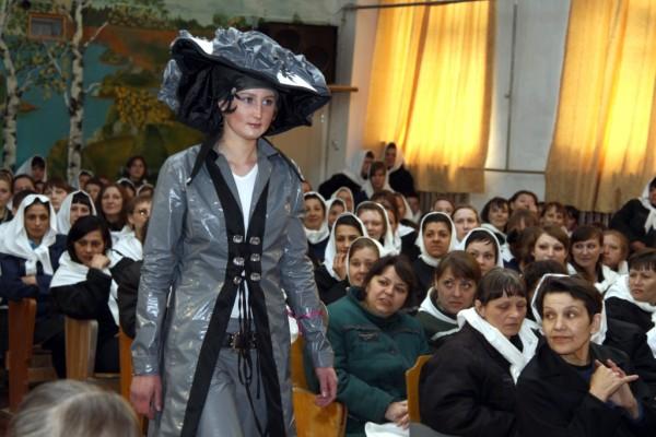 В пермской тюрьме провели показ мод