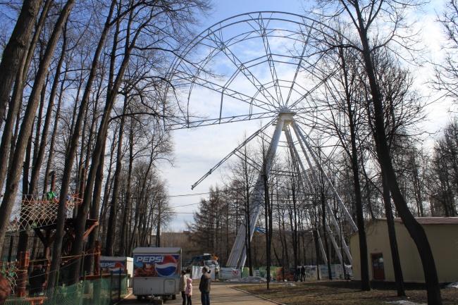 Горьковский парк Перми имеет небезопасные конструкции
