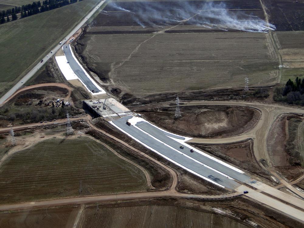В Перми реконструируют трассу, ведущую к аэропорту