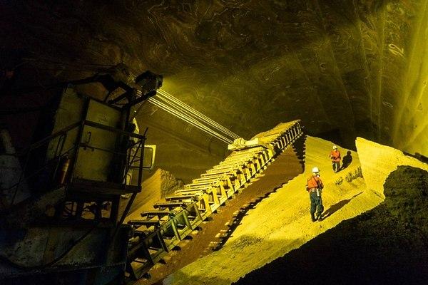 Новый рудник строится компанией «Уралкалий»