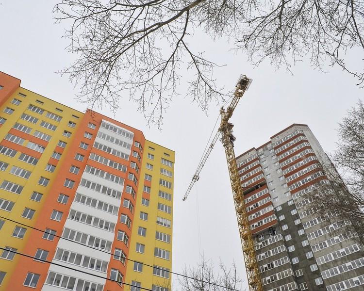 Полмиллиона квадратных метров жилья построят в Перми в этом году