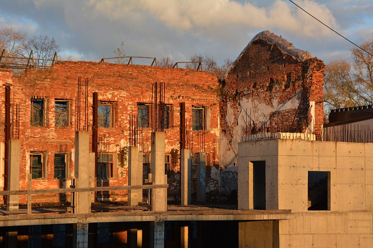 В Перми приступили к ремонту здания бывшего пивзавода