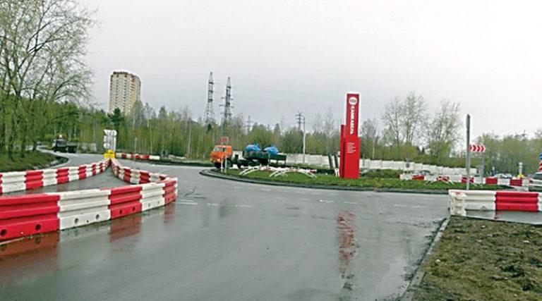Дорожная развязка у КамГЭС отремонтирована
