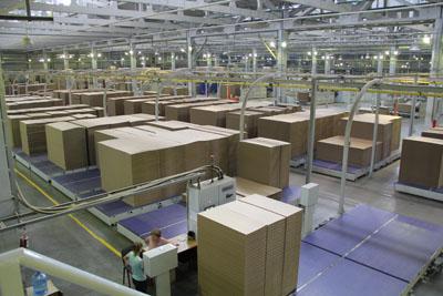 Японцы посетили пермский завод гофротары