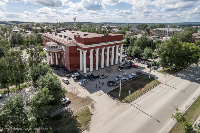 «Культурно-деловой центр» в Чусовом закрыли пожарники