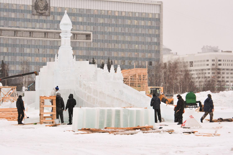 Подписан госконтракт на строительство ледового городка в Перми