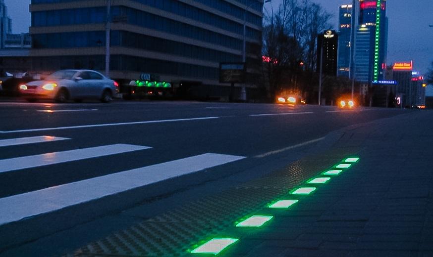 В Перми есть особый светофор для смартфонозависимых пешеходов