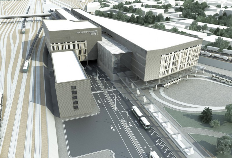 Новый пермский вокзал построят в рамках спецпрограммы ОАО «РЖД»