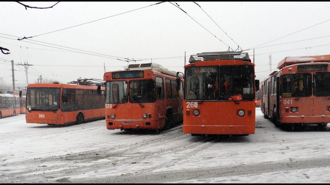 Первого мая пермские власти начнут ликвидацию троллейбусного парка