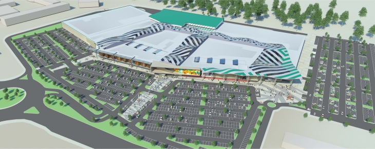 На пермском Ипподроме начали строить торговый центр