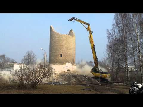 В Перми приступили к сносу водонапорной башни