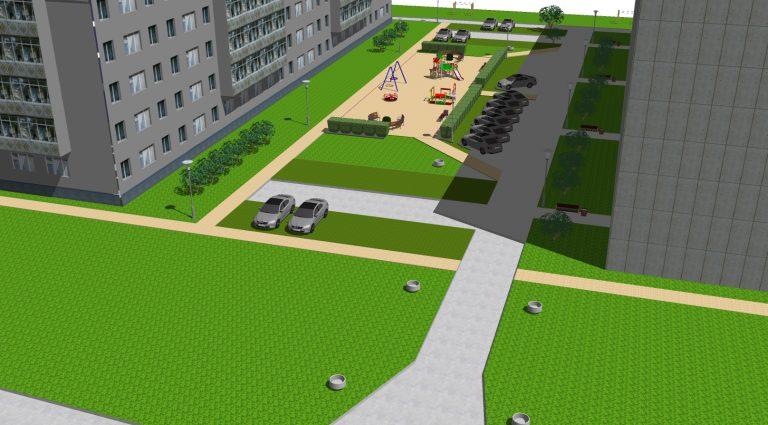 Благоустройство дворов и парков Прикамья будет продолжено в больших объёмах