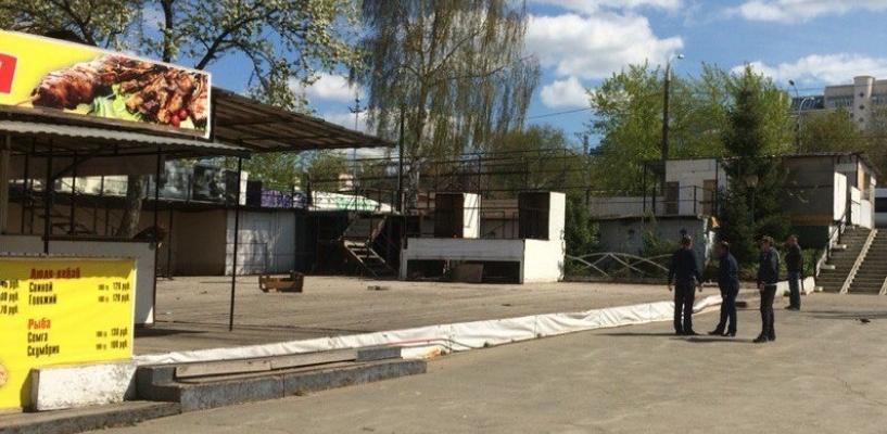 Снести  кафе на пермской эспланаде требует общественный активист